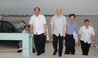 Tổng Bí thư Nguyễn Phú Trọng thăm nhà máy điện gió Bạc Liêu