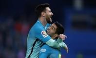 Suarez, Messi lập công giúp Barca đánh bại Atletico Madrid