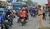 TP.HCM không xảy ra ùn tắc giao thông trong kì nghỉ Tết Đinh Dậu