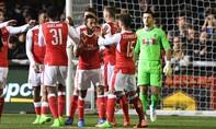 Arsenal nhẹ nhàng đi tiếp ở cúp FA