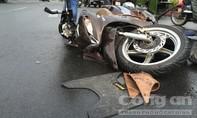 Vượt đèn đỏ, người đàn ông bị xe tải tông trọng thương