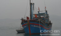 Kịp thời cứu nạn 9 thuyền viên trên tàu cá vào bờ an toàn