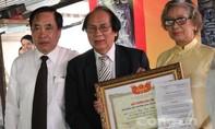 Trao tặng giải thưởng Đào Tấn cho cố danh nhân văn hóa Á Nam Trần Tuấn Khải
