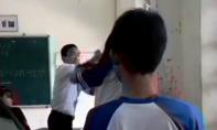 Kỷ luật thầy giáo và nữ sinh đánh nhau trong lớp học