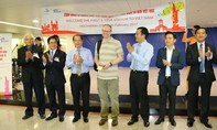 TP.HCM đón vị khách quốc tế đầu tiên được cấp thị thực điện tử Việt Nam