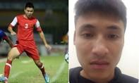 Cầu thủ Sông Lam Nghệ An đấm gãy mũi đối thủ trên sân