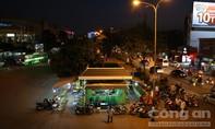 Từ bến xe đến trung tâm thành phố giao thông ổn định