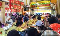 TP.HCM, nhiều cửa hàng vàng nâng giá trong ngày Thần Tài