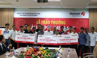 Vietlott trao gần 127 tỷ đồng cho 3 khách hàng đến từ TP.HCM và Long An