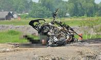 Người đàn ông chết cháy bên chiếc xe ở Sài Gòn do tự thiêu