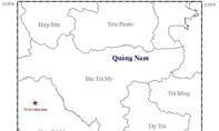 Quảng Nam: Lại xảy ra động đất ở huyện Nam Trà My