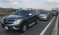 6 ô tô tông liên hoàn trên cao tốc TP.HCM-Long Thành-Dầu Giây