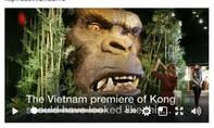 Vụ cháy ở buổi ra mắt phim 'Kong' xuất hiện trên nhiều báo nước ngoài