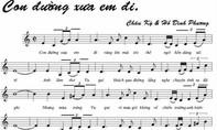 'Con đường xưa em đi' tạm dừng lưu hành vì lời bài hát không đúng bản gốc