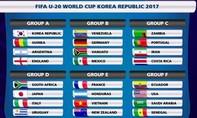 U20 Việt Nam chung bảng với Pháp tại World Cup
