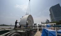 Công trình Metro - Máy khoan hầm TBM siêu hiện đại chuẩn bị khởi động
