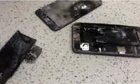 CLIP: iPhone 6 Plus phát nổ ngay trên tay người dùng