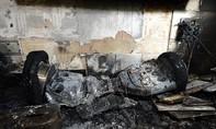Xe tự cân bằng bốc cháy làm tử vong cháu bé 3 tuổi