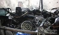 Hỏa hoạn giữa lòng thành phố thiêu rụi 15 gian hàng