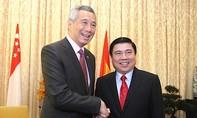Thủ tướng Singapore Lý Hiển Long đến TP.HCM