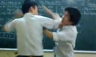 Nam sinh bị đánh trong lớp học vì chào thầy bằng tiếng Anh