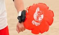 Phao cứu sinh nhỏ gọn như đồng hồ đeo tay 'hút khách'