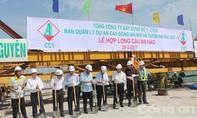 Hợp long cầu An Hảo trên sông Đồng Nai