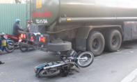 Xe bồn cán chết người đàn ông ở trung tâm TP.HCM
