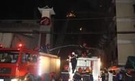 Cần Thơ: Đám cháy tại công ty may mặc bùng phát trở lại