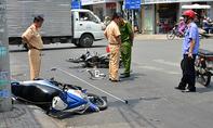 Nghi án cướp tông người đàn ông nguy kịch ở trung tâm TP.HCM