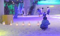 Có một thị trấn tuyết trắng phau như châu Âu giữa lòng Sài Gòn