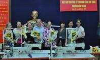 Trao 5 máy may cho phụ nữ có hoàn cảnh khó khăn tại P. Bến Thành