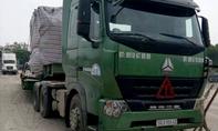 Xe quá tải hàng chục tấn chạy từ Bắc vào Nam 'trốn' ở Bình Dương