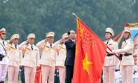 Lực lượng Cảnh sát đặc nhiệm đón nhận Huân chương Chiến công hạng Nhất