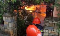 Hỏa hoạn thiêu rụi căn nhà cấp 4