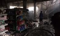 Cháy dữ dội ở siêu thị Miền Tây, 2 tỷ đồng hàng hóa bị thiêu trụi