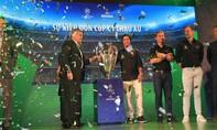 Ba danh thủ hàng đầu thế giới mang cúp Champions League tới Việt Nam