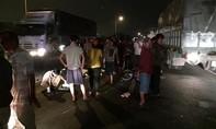 Phát hiện xe máy và thi thể một thanh niên nằm giữa Quốc lộ 1