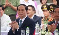 Chủ tịch nước khởi động đồng hồ đếm ngược chào mừng Tuần lễ cấp cao APEC 2017