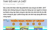 """Nghi vấn """"bình mới rượu cũ"""", Thiên Ngọc Minh Uy nâng cấp hoạt động lên tập đoàn"""
