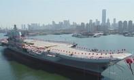 Trung Quốc hạ thủy tàu sân bay đầu tiên tự đóng