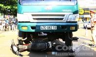 Xe tải va chạm xe máy, người đàn ông bị cán tử vong