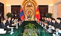 Phó thủ tướng, Bộ trưởng ngoại giao Phạm Bình Minh tiếp bộ trưởng Ngoại giao Mông Cổ Tsend Munkh-Orgil