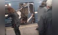 Nổ lớn ở hệ thống tàu điện ngầm St Petersburg khiến 10 người thiệt mạng