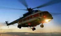 Tàu cá bị chìm, 5 ngư dân được máy bay trực thăng dầu khí đưa vào bờ