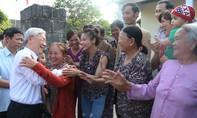 Hình ảnh xúc động Tổng Bí thư Nguyễn Phú Trọng với người dân Quảng Trị
