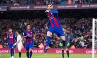 Messi 'nghiền nát' Sevilla