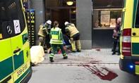 Tấn công bằng xe tải ở thủ đô Thụy Điển khiến nhiều người thương vong