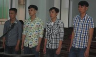 4 đối tượng bị kháng nghị tăng án do ném bom xăng vào người dân