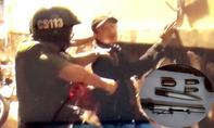 Cảnh sát 113 bắt đối tượng 'thủ' 2 khẩu súng dạo phố